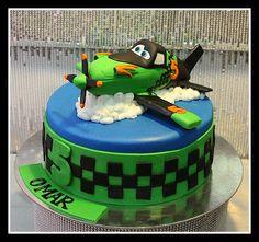 Ripslinger the green plane cake