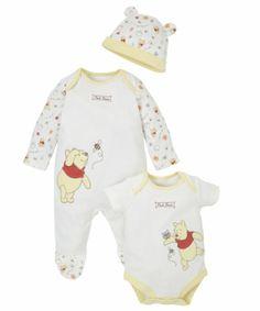 9a6b8ca8d614 Winnie The Pooh Set - 3 Piece. Disney Baby ClothesUnisex ...