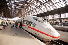 Took a super-fast luxury ICE (Inter City Express) train (of Deutsche Bahn) from Paris to Berlin. It took 14 hours but I so did not mind.Love the ICE trains. ultra modern interiors so comfy too we left zurich bahnhof w //s&K By Train, Train Tracks, Db Bahn, Berlin Today, Diesel, High Speed Rail, Bonde, Speed Training, Electric Locomotive