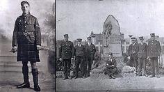Glasgow, Scotland: Victoria Cross winner John Meikle and his memorial, World War One At Home - BBC