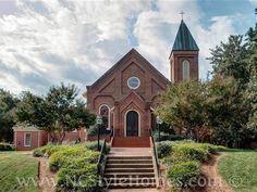 The Beautiful Town of Hillsborough (First Baptist Church)