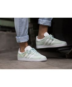 ef16436f2d0c5f shop womens adidas gazelle clear sky white gold metallic trainer at the  official adidas uk online store