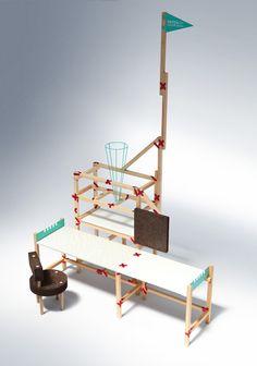 Patch Project DIY furniture by Beza Projekt
