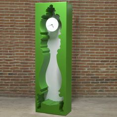 InsideOut Clock Green, $2,149, now featured on Fab.
