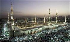 Al Nabawi Mosque, Medina, Saudi Arabia