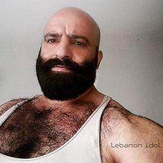 Bald Men, Hairy Men, Bearded Men, Hot Beards, Great Beards, Beard Barber, Daddy Bear, Beard Balm, Hairy Chest