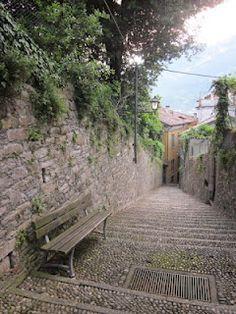 Street in Bellagio, Italy