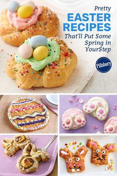 The Taste Kitchen Easter Deserts, Easter Snacks, Easter Appetizers, Easter Dinner Recipes, Easter Brunch, Easter Treats, Appetizer Recipes, Holiday Recipes, Easter Food