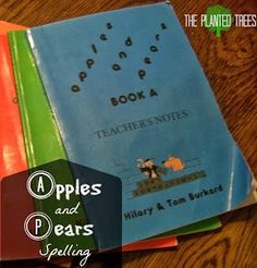 The Planted Trees: Final Analysis Friday: Apples and Pears Spelling