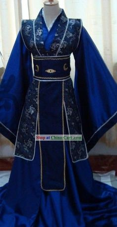 Ancient Chinese Prince Costume Complete Set rental set traditional buy purchase on sale shop supplies supply sets equipemnt equipments Moda Medieval, Prince Costume, Fantasy Dress, Character Outfits, Traditional Dresses, Traditional Chinese Clothing Male, Historical Clothing, Costume Design, Asian Fashion