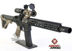 AirsoftJunkiez Custom SMP NX HPA Rifle