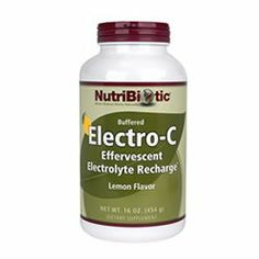 Lemon Electro-C Powder - 16 oz - Powder by Nutribiotic. Save 10 Off!. $21.95. Disclaimer: This website is for informational purposes only. Always check the actual product label in your possession for the most accurate ingredient information due to product changes or upgrades that may not yet be reflected on our web site. These statements made in this website have not been evaluated by the Food and Drug Administration. The products offered are not intended to diagnose, treat. Electro-...