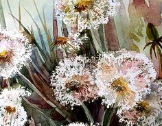 """Check out new work on my @Behance portfolio: """"Dandelions"""" http://on.be.net/1O5uAAb"""