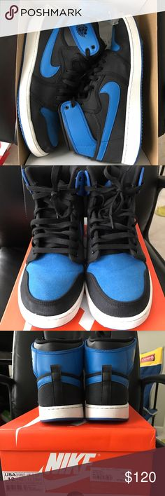 Air Jordan 1 High OG KO Size 12 Air Jordan 1 High OG KO -Size 12- condition worn with light creases / fading around toe box still lots of life left!!! - comes from a smoke free home Jordan Shoes Sneakers