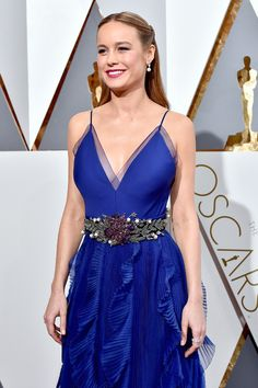 Оскар-2016 - Бри Ларсон в Gucci