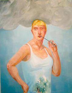 Nicole Eisenman  Inspiration  2004  oil on canvas