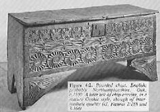 Medieval six board chest, c. 1500