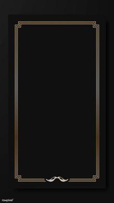 Black Background Wallpaper, Black Phone Wallpaper, Screen Wallpaper, Wallpaper Backgrounds, Iphone Wallpaper, Posters Vintage, Vintage Frames, Dark Wood Bedroom Furniture, Handy Wallpaper
