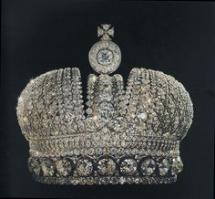"""One of two duplicate so called """"Consort Imperial Russian State Crowns"""", one of which was """"lost"""" during the 1920's & is unaccounted for."""