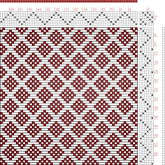 Hand Weaving Draft: Page 121, Figure 14, Donat, Franz Large Book of Textile Patterns, 6S, 6T - Handweaving.net Hand Weaving and Draft Archive