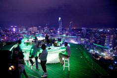Vietnam Saigon Nightlife | New Ho Chi Minh City Restaurants and Bars – Chill Restaurant and Sky ...