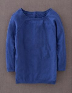 I've spotted this @BodenClothing Everyday Button Back Sweater Imperial Blue