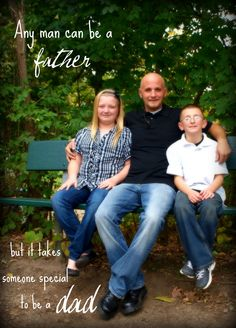 Love the saying for Justin for Father's Day. Pictures today and we are going to do one of him with all the kids!