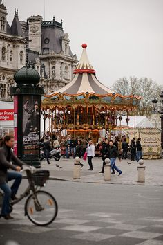 Hotel de Ville carousel, Paris