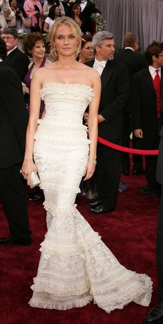 Diane Kruger in Elie Saab at the 2006 Academy Awards