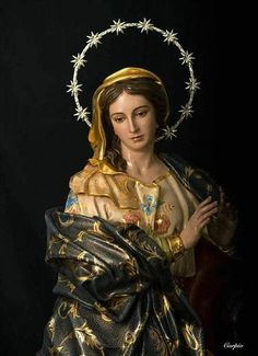 Queen of Heaven Divine Mother, Blessed Mother Mary, Blessed Virgin Mary, Catholic Art, Catholic Saints, Religious Images, Religious Art, Mama Mary, Queen Of Heaven