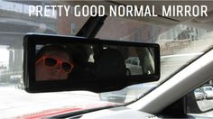 LCD Rearview Mirror Proves Not Everything Needs To Be Digital