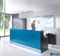 Linea Linear Reception Desk by MDD