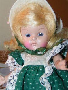 1950 VOGUE STRUNG GINNY Sleep Eye Transitional HTF POLLY - Sweet Early Doll #VOGUE #VOGUE1950SSTRUNGHPGINNYDOLL