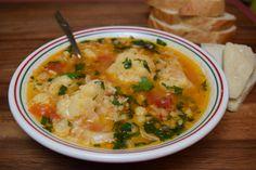 Cauliflower and Rice Zuppa Toscana, Tasty, Yummy Food, Cauliflower, Dinners, Curry, Rice, Cooking, Healthy