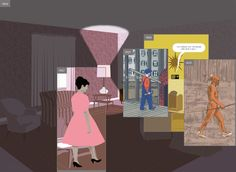 Here by Richard McGuire. The story of a corner of a room and of the events that have occurred in that space over the course of hundreds of thousands of years.