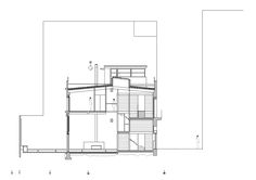 Edifício Unifamiliar,Corte 1