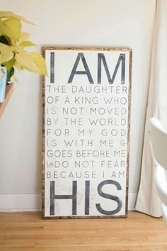 I am a daughter of the King of Kings! Will someone buy this for me????  #DaughtersoftheKing.