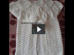 Bölüm 1 Türkçe Anlatımlı Yaprak Robalı Karnıbahar Modeli Bebek Yeleği
