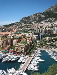 Monaco-was there in my late 20's and the best food I have ever eaten..
