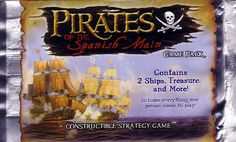 """Pirates of the Spanish Main"" game pack"
