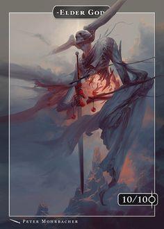 Elder God Token (Desolation Twin) for MTG
