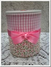 Resultado de imagem para lata de leite decorada para aniversario