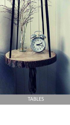 Vintage Ropes - Plantenhangers, hangende tafels en meer