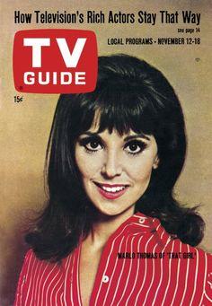 "TV Guide: November 12, 1966 - Marlo Thomas of ""That Girl"""