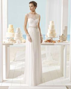 Xenia Vestido De Novia Aire Barcelona Beach Wedding 2017 Wear