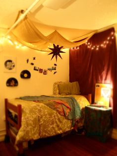 my home away from home, dorm rooms need not be drab. submitted by corteaus. feels like forts we made when we were young