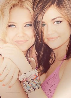 Ashley Benson & Lucy Hale