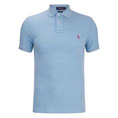 Polo Ralph Lauren Men's Short Sleeve Slim Fit Polo Shirt - French Turquiose