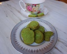 Give my Matcha Butter Cookies a try! They're sure to please.