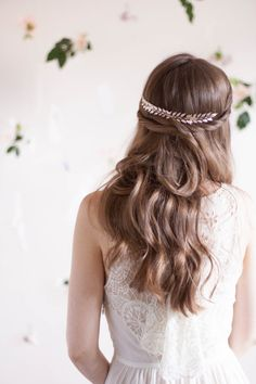 Edwardian Leaf Comb, Silver leaf comb, silver leaf headpiece, leaf clip, laurel clip, leaf comb, bridal comb, grecian, boho woodland #207